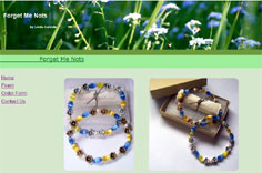 Forget Me Nots Memorial Bracelets - Sympathy Gifts, Bereavement Gifts, Condolence Gifts, Memorials, Remembrances by Linda Calcote