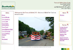 Town of Alfred NY Website